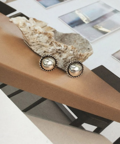 Lupe earrings (silver92.5)