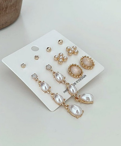 kitten earrings (5set)