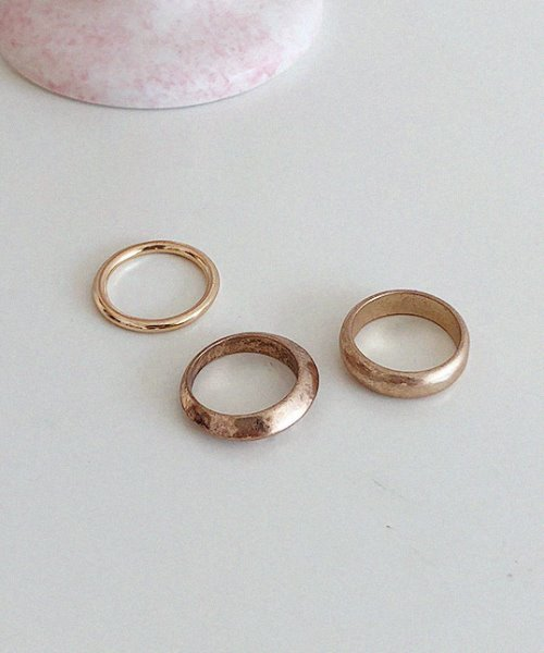 caddle rings (3set)