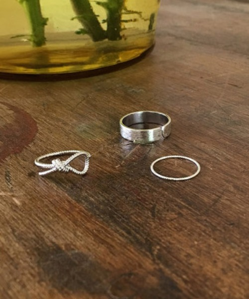 flat ribbon rings(3 set)