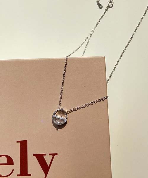billy necklace (silver 92.5)